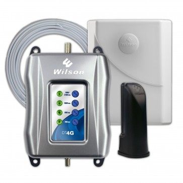Wilson 460101 DT4G 5-Band Signal Booster Kit for Voice and 4G LTE [Discontinued]