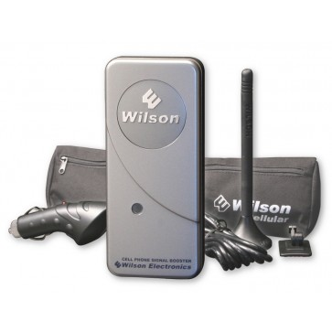 "Wilson 460113 MobilePro Dual-Band Signal Booster Kit with 4"" Antenna [Discontinued]"