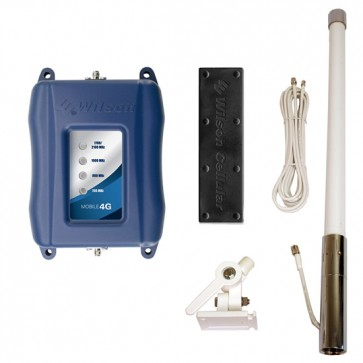 Wilson Mobile 4G Marine Signal Booster Kit for Voice, 3G & 4G LTE [Discontinued]