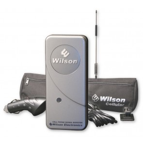 "Wilson 801241 MobilePro Dual-Band Signal Booster Kit with 12"" Antenna [Discontinued]"