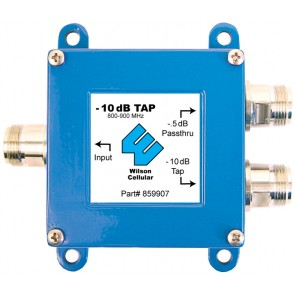 Wilson 859907 Dual-Band -10 dB Tap with N-Female Connectors