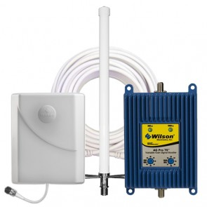 Wilson 841265 AG PRO 70 dB Dual-Band Omni Signal Booster Kit [Discontinued]