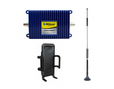 Wilson 811214 SIGNALBOOST 30 dB Dual-Band Cradle Signal Booster Kit [Discontinued]