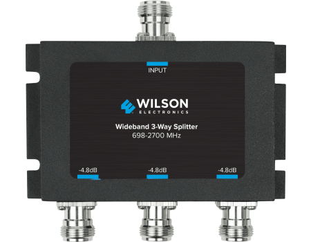 Wilson 859980 Three-Way Wide-Band Splitter with N-Female Connectors