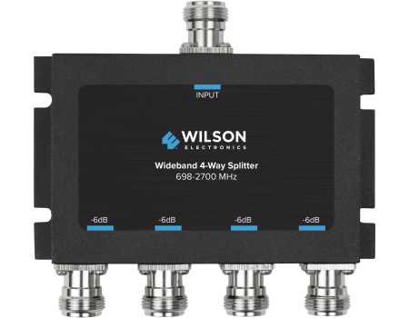 Wilson 859981 Four-Way Wide-Band Splitter with N-Female Connectors
