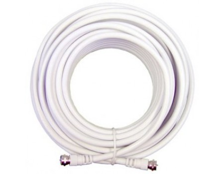 Wilson 950630 30' White RG6 Low Loss Coax Cable