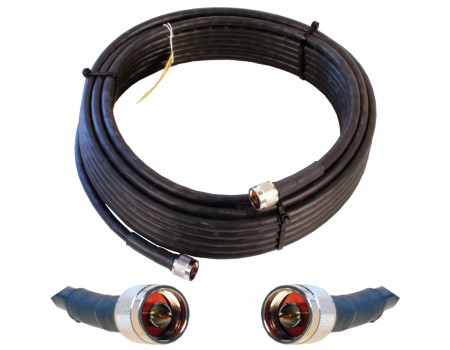 Wilson 952350 50' WILSON400 Ultra Low Loss Coax Cable with N-Male Connectors