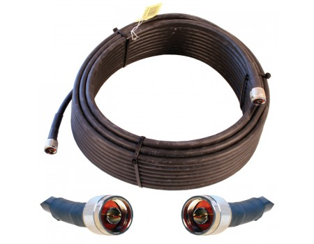 Wilson 952375 75' WILSON400 Ultra Low Loss Coax Cable with N-Male Connectors