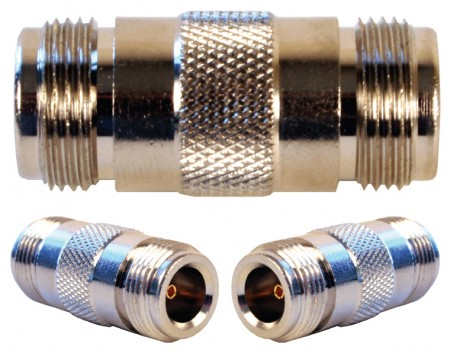 Wilson 971117 N-Female to N-Female Barrel Connector