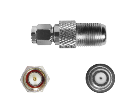 F Female - SMA Male Connector (971165)
