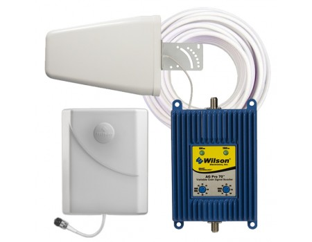Wilson 841265 AG PRO 70 dB Dual-Band Yagi Signal Booster Kit [Discontinued]