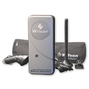 "Wilson 801242 MobilePro Dual-Band Signal Booster Kit with 4"" Antenna [Discontinued]"