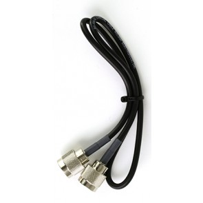 Wilson 951134 2' RG58U Low Loss Coax Cable with N-Male Connectors