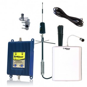 Wilson 801245 RV & Large Vehicle Dual-Band Signal Booster Kit [Discontinued]