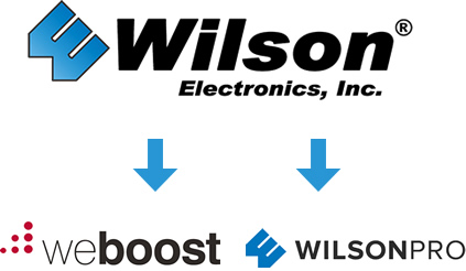 Wilson Electronics, weBoost and WilsonPro