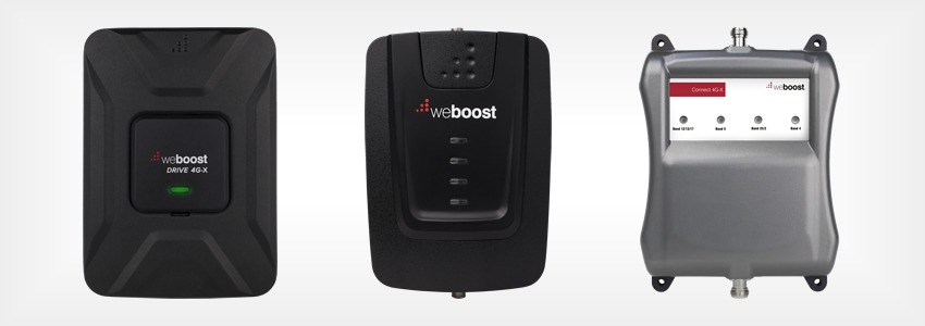 Cell phone signal booster amplifiers